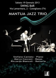 I MJT in concerto Allo Swing Bar di Conegliano il 19-01-2012