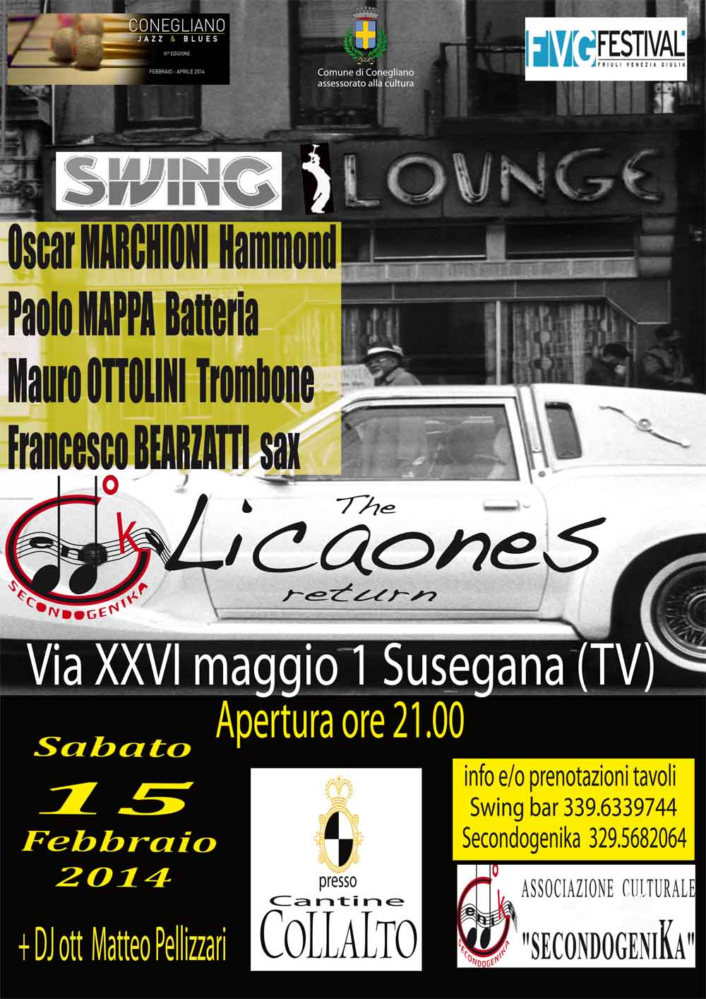 licaones lounge party